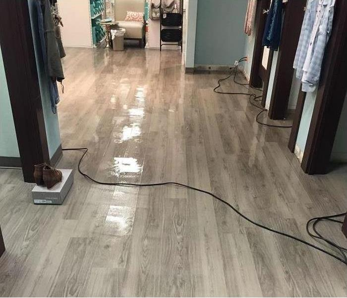 Kalispell Water Intrusion in a Clothing Store Before