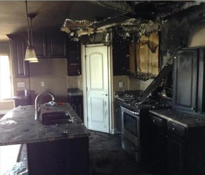 Kalispell Fire-Ravaged Kitchen Before